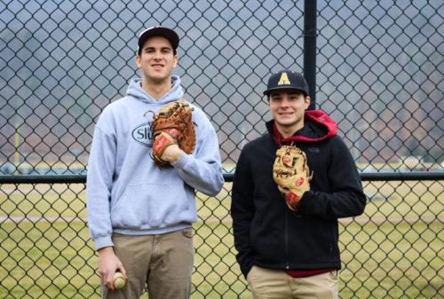 Freshman duo hopes to score new club baseball team