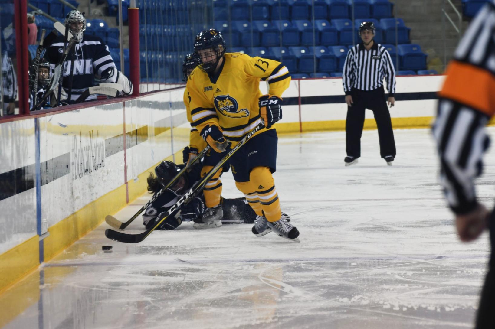 Quinnipiac women's ice hockey falls to New Hampshire