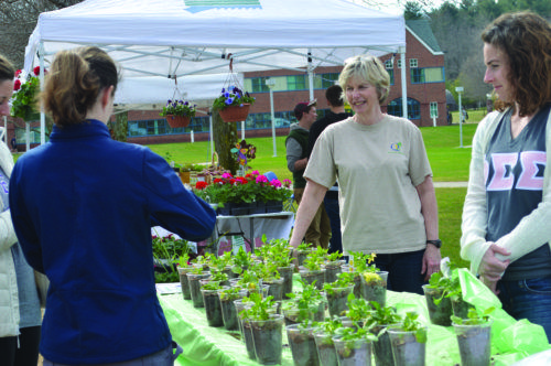 Farmer's Market makes a return for Earth Day