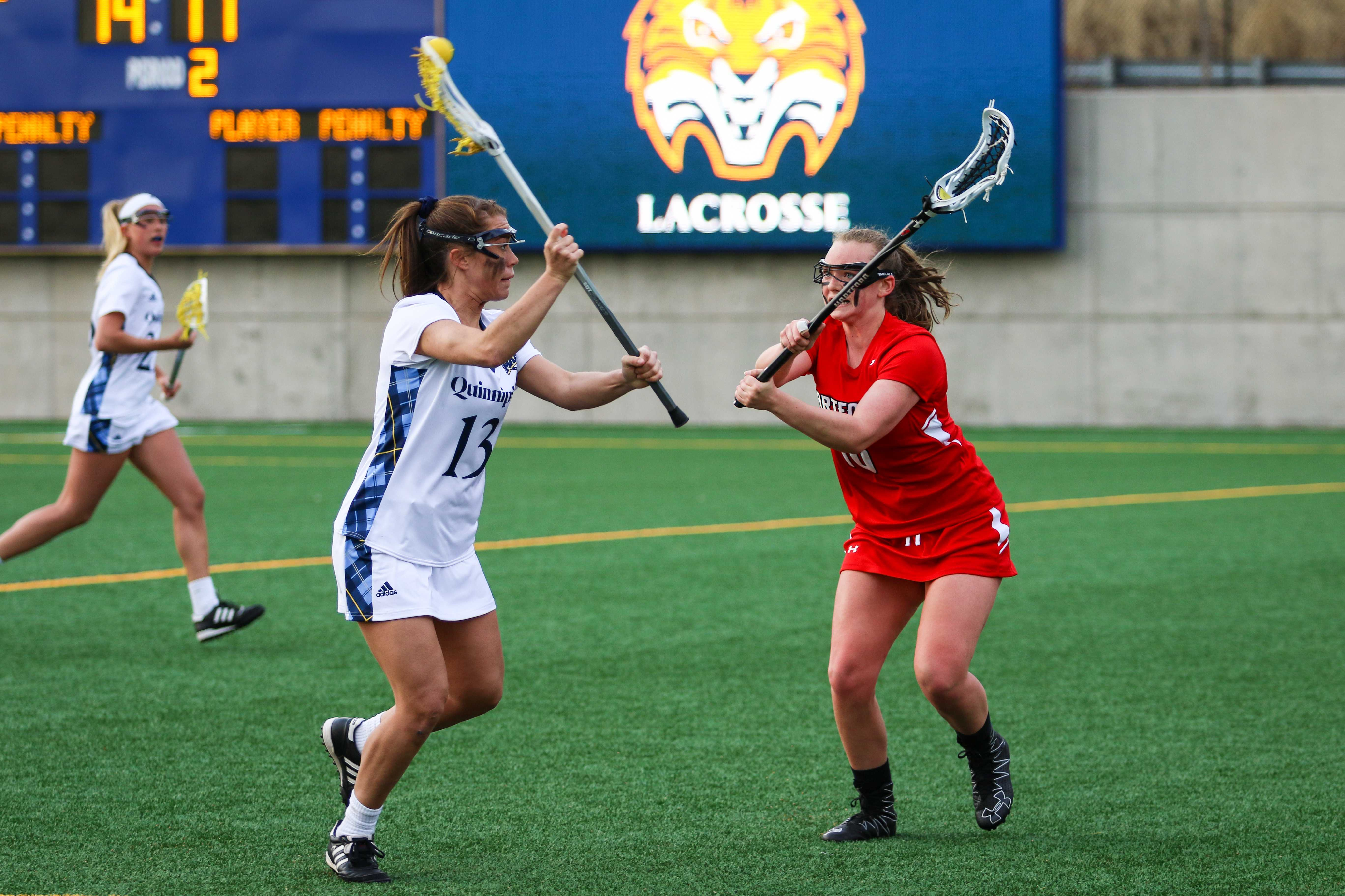 Quinnipiac women's lacrosse dominant in 16-4 win over Hartford