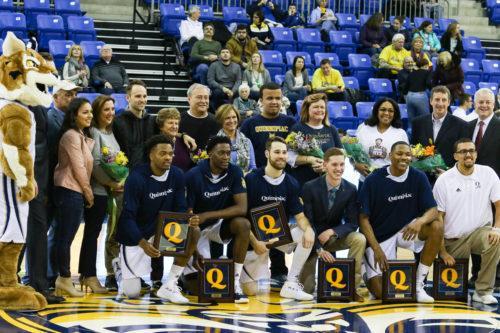 Quinnipiac men's basketball falls to Saint Peter's on Senior Day