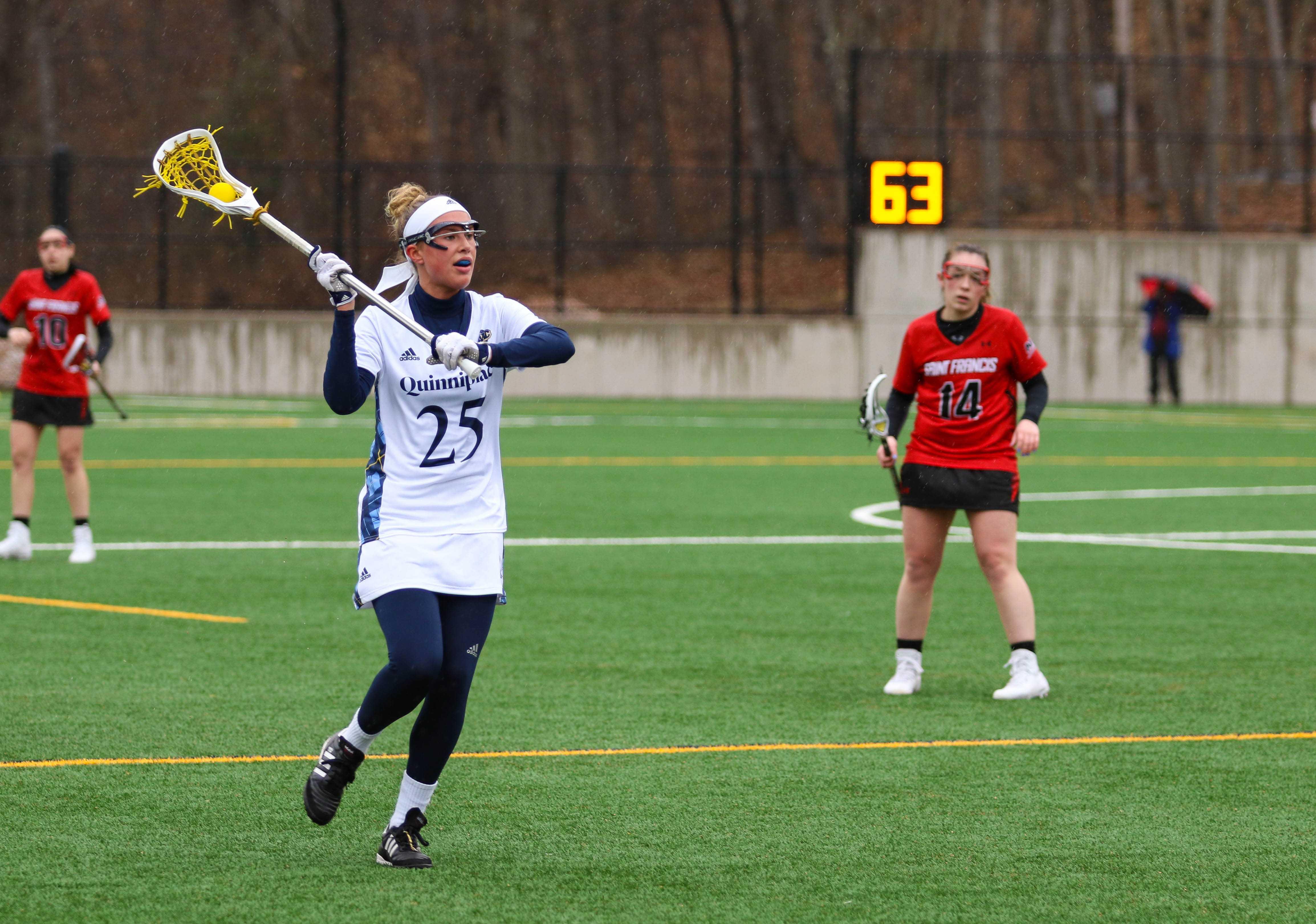 Quinnipiac women's lacrosse beats Sacred Heart, extends win streak to three
