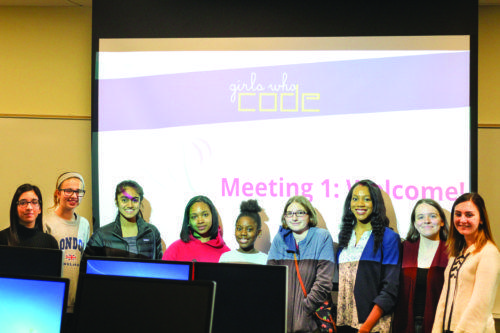 Girls Who Code extends program to Quinnipiac
