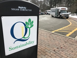 Quinnipiac stagnant in sustainability
