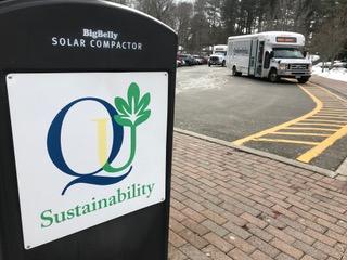 Quinnipiac stagnant in sustainability