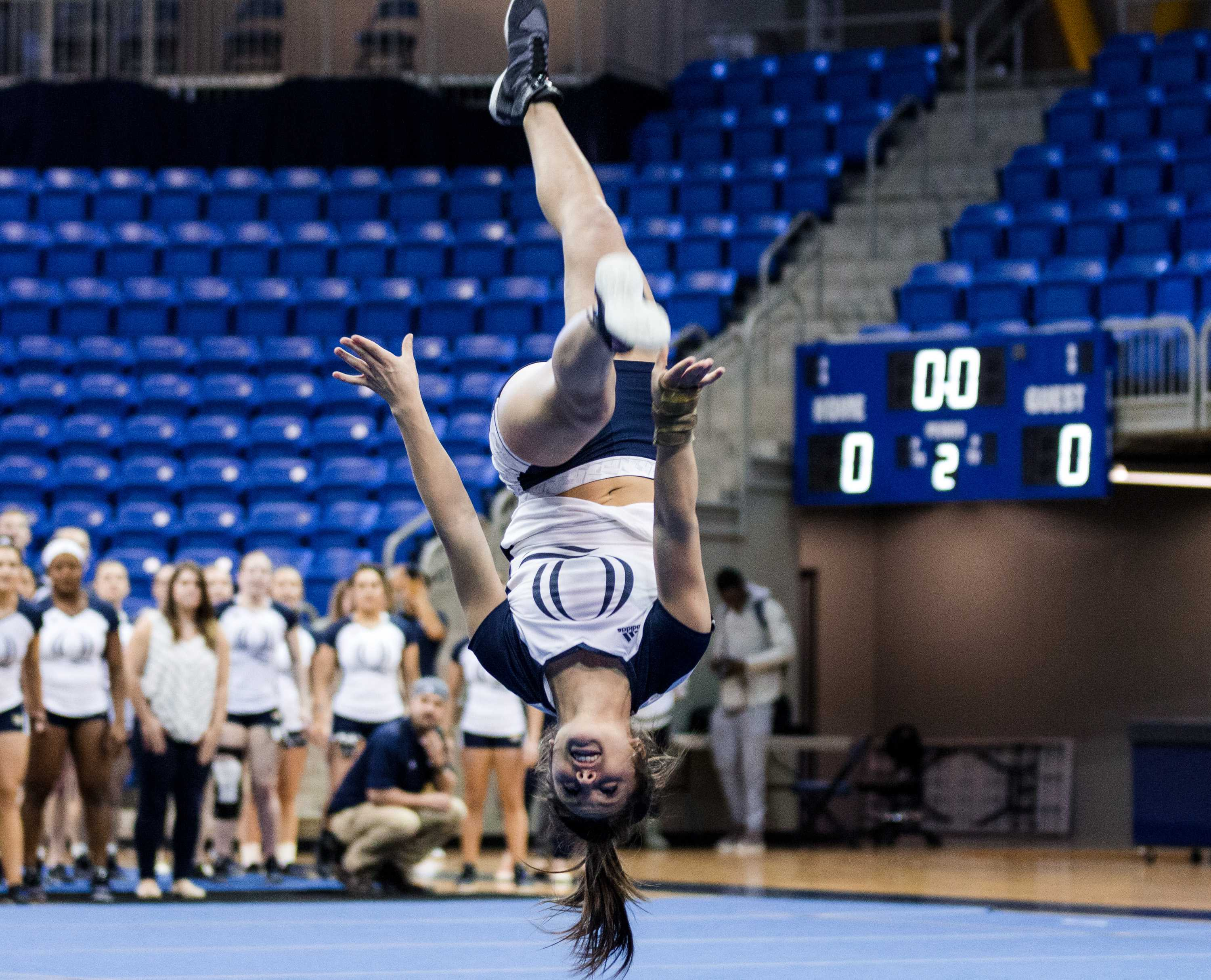 Quinnipiac acrobatics and tumbling drops season-opener to Baylor