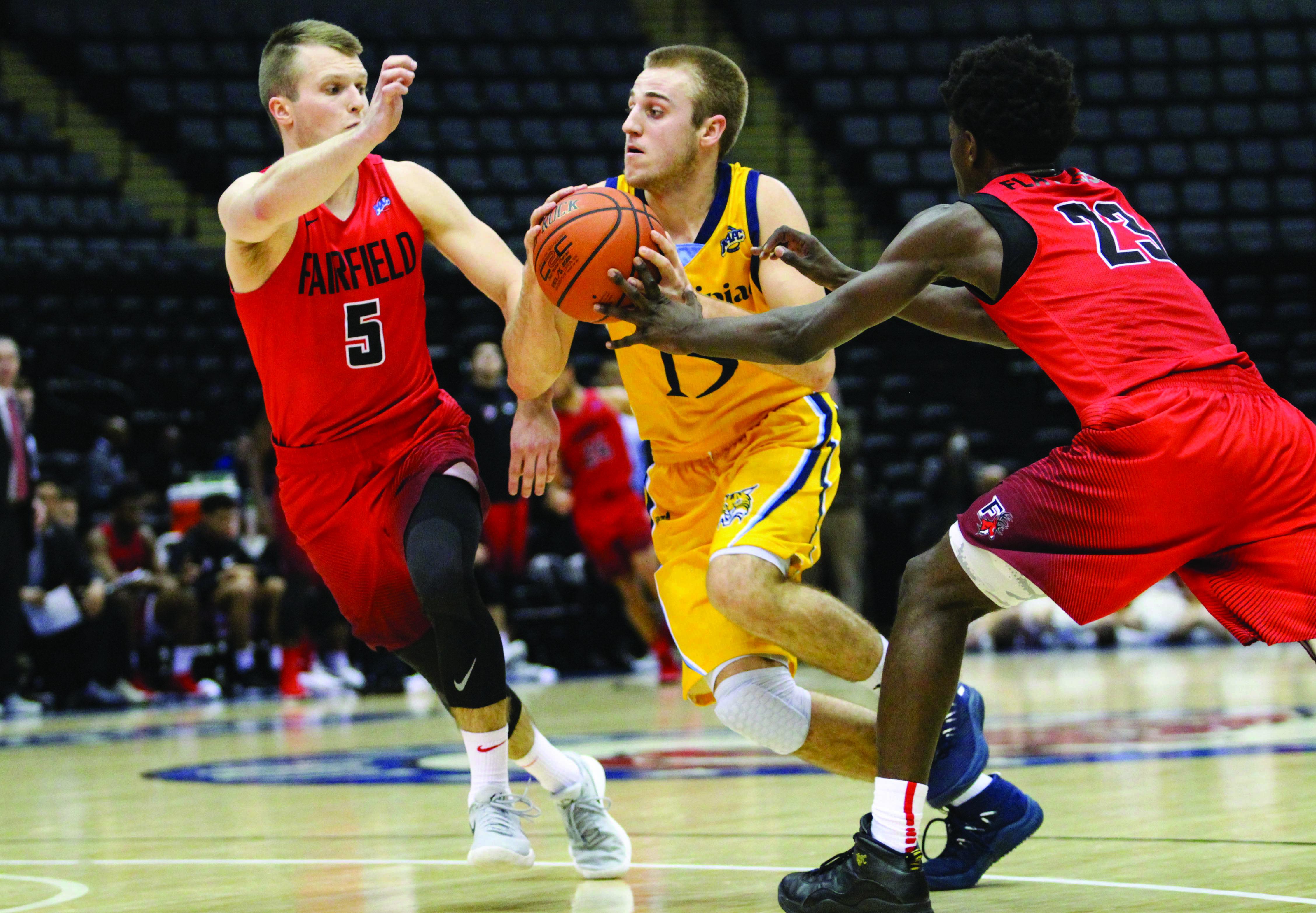 Quinnipiac men's basketball falls in double overtime at Fairfield
