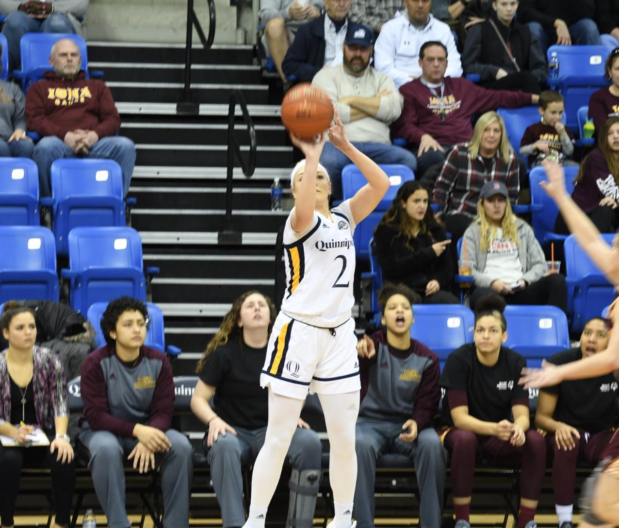 Quinnipiac women's basketball dominant again in 90-47 win over Iona