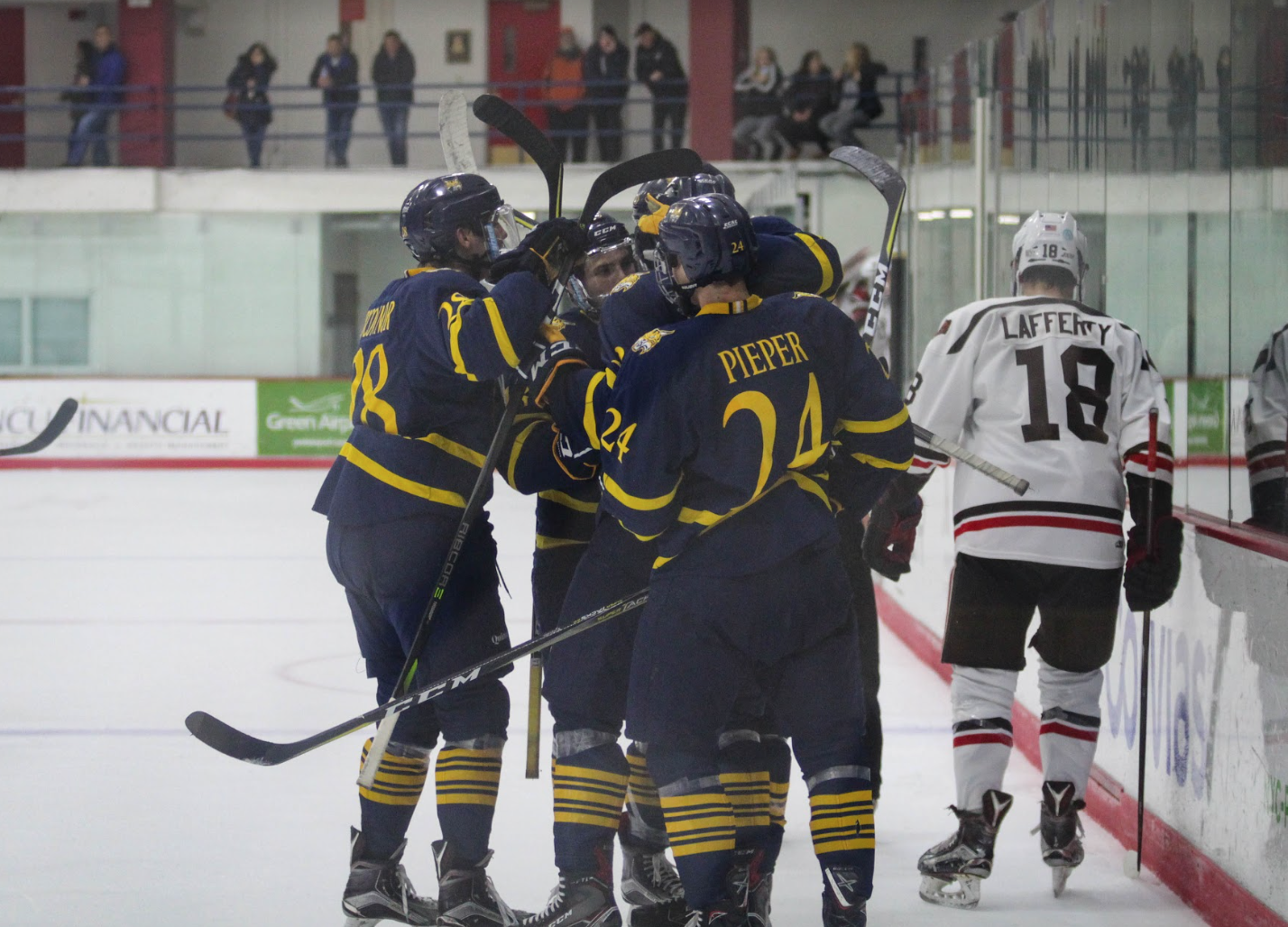 Quinnipiac men's ice hockey blanks Brown 3-0 in Providence
