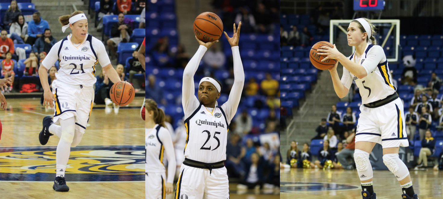 Quinnipiac basketball players named to All-MAAC teams
