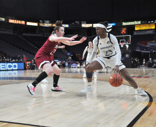 Quinnipiac women's basketball advances to fifth straight MAAC Championship game with win over Rider