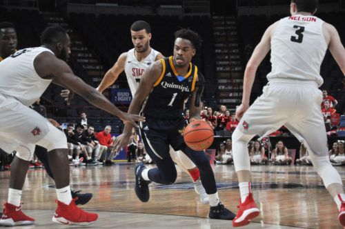 Quinnipiac men's basketball falls to Fairfield, finishes the season in the MAAC semifinals