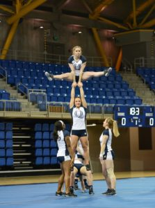 Quinnipiac acrobatics and tumbling victorious over King University