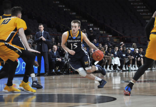 Quinnipiac men's basketball shocks Canisius to advance to MAAC semifinals