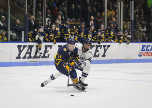 Quinnipiac+travels+to+Yale+for+the+ECAC+Hockey+Tournament+First+Round
