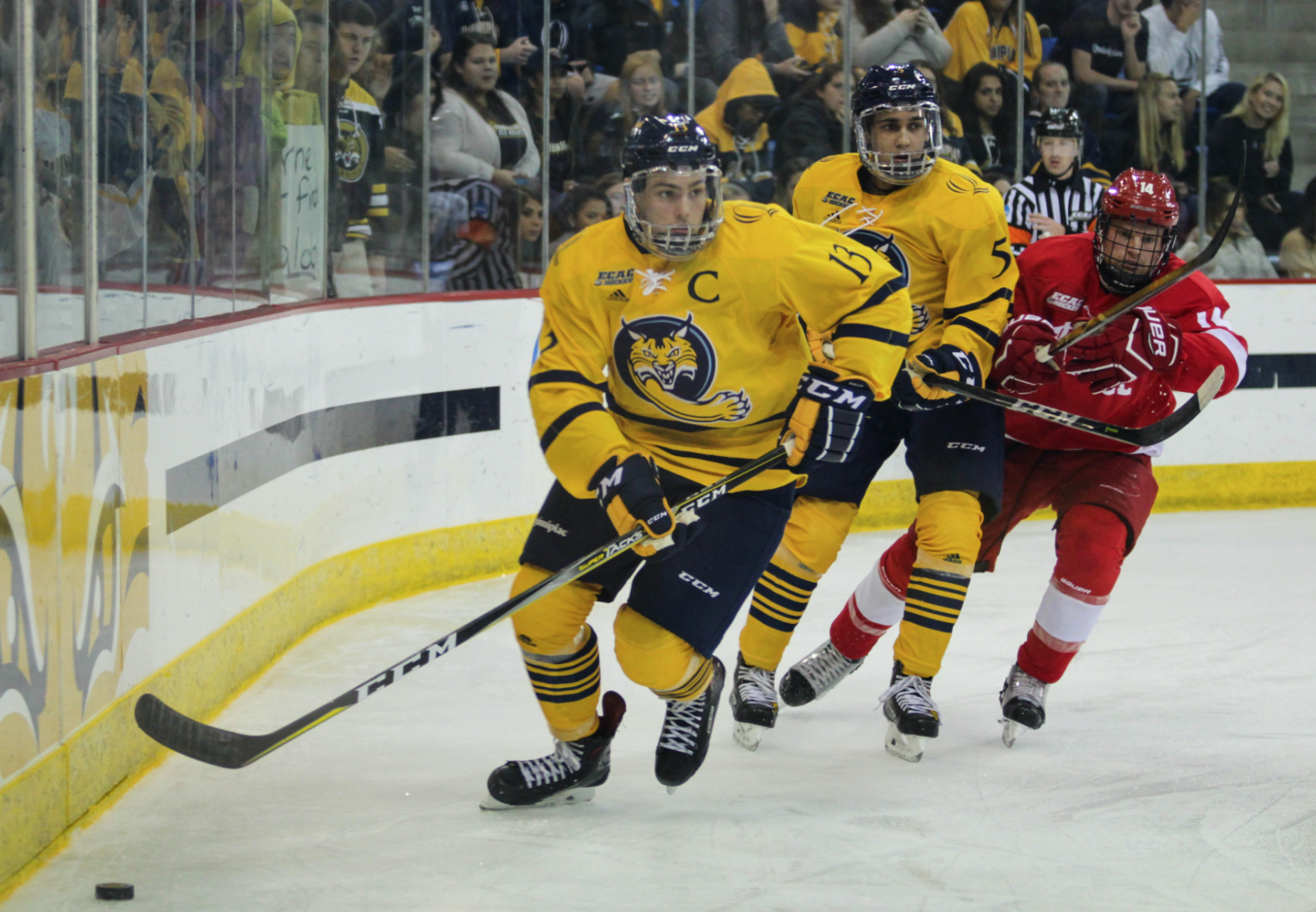 Quinnipiac men's ice hockey's season ends at Cornell