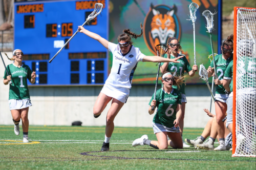 Quinnipiac women's lacrosse gets first MAAC win over Manhattan