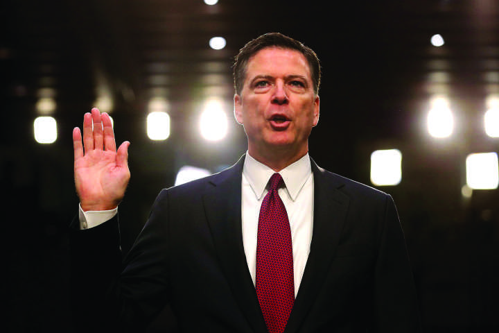 Former FBI Director James Comey sits down with George Stephanopolous