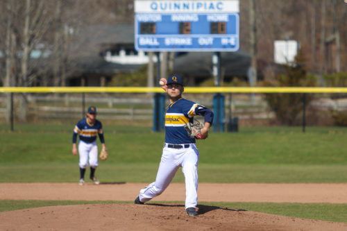 Quinnipiac baseball beats Monmouth in home opener, 8-3