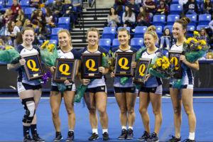 Quinnipiac acrobatics and tumbling takes Senior Day win over Gannon