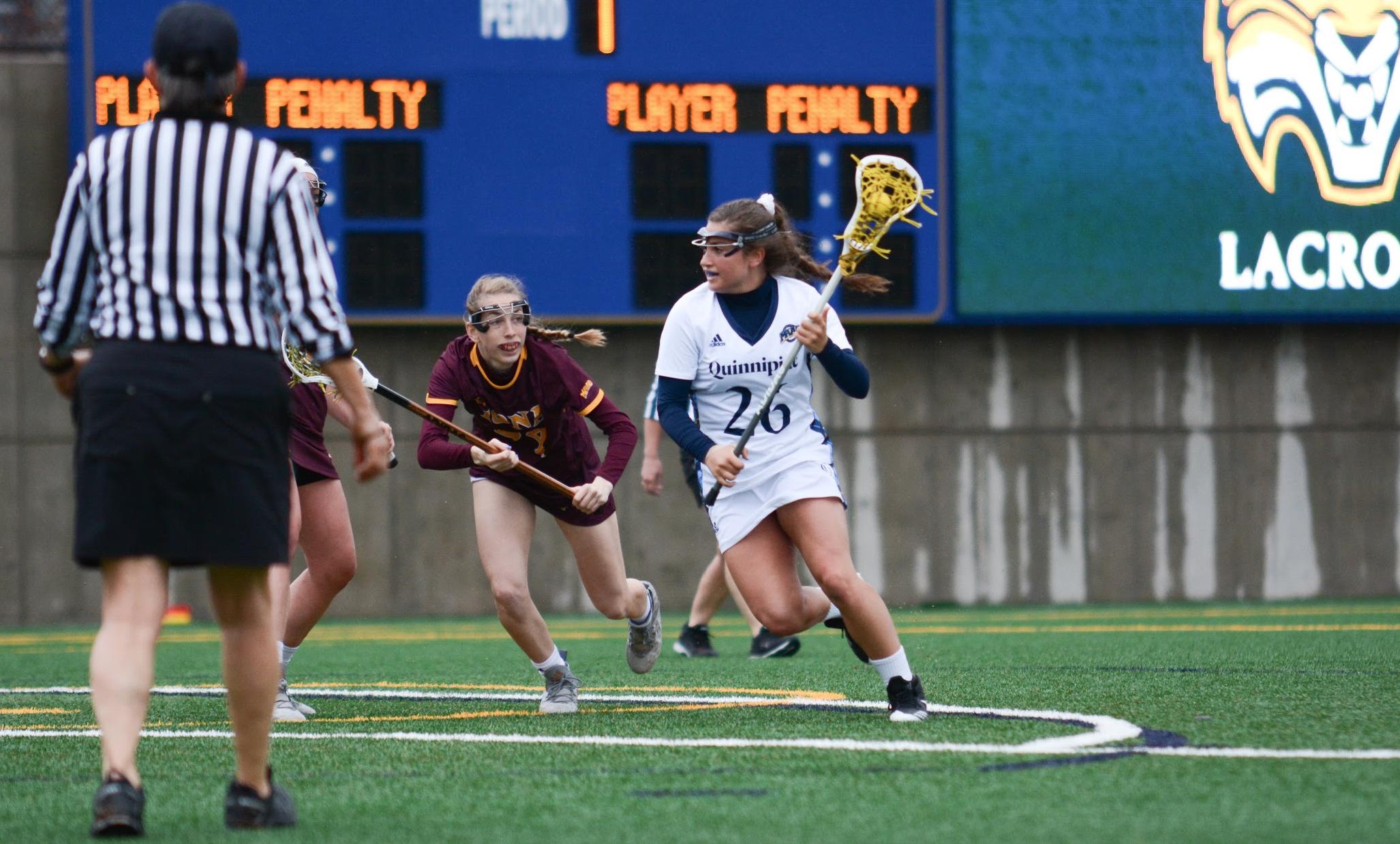 Quinnipiac women's lacrosse comes up short against Iona