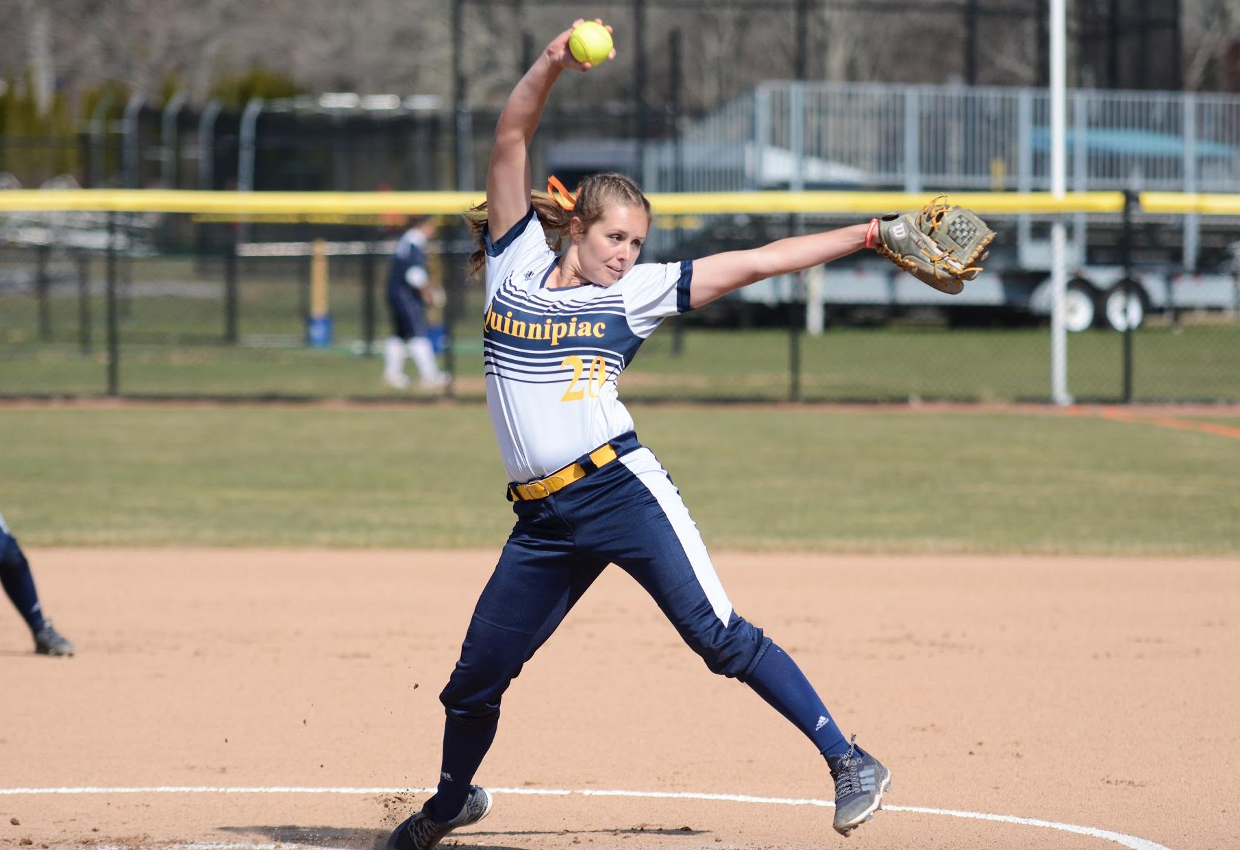 Quinnipiac softball falls to Yale in 'Chris' Game'