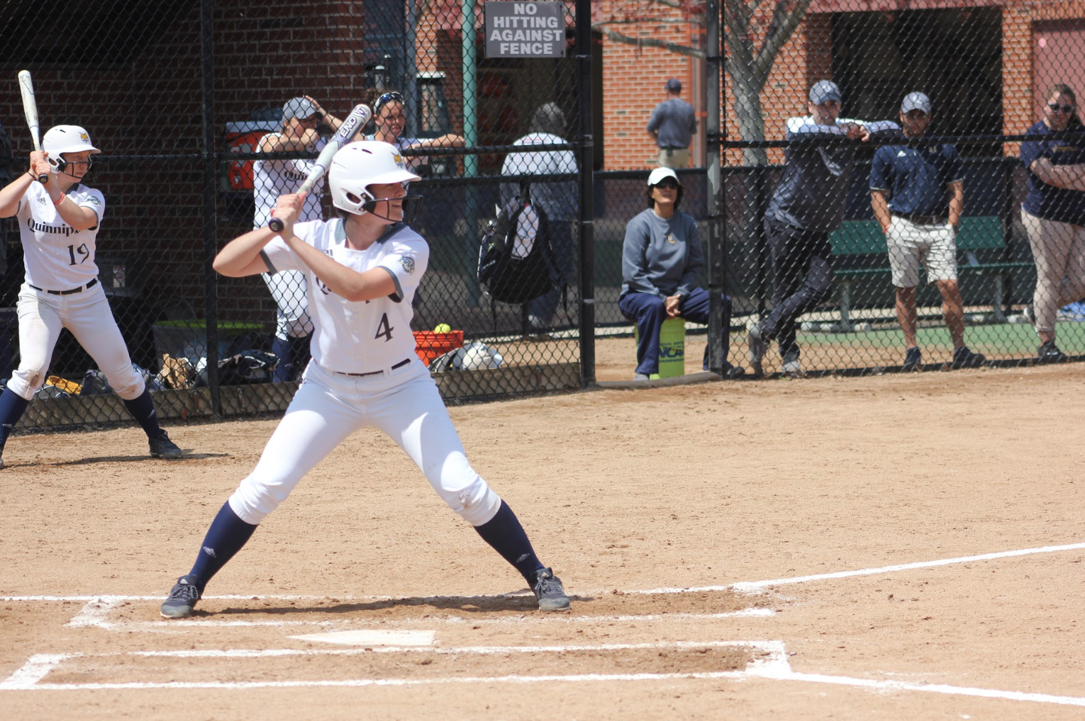Fairfield sweeps Quinnipiac softball in doubleheader