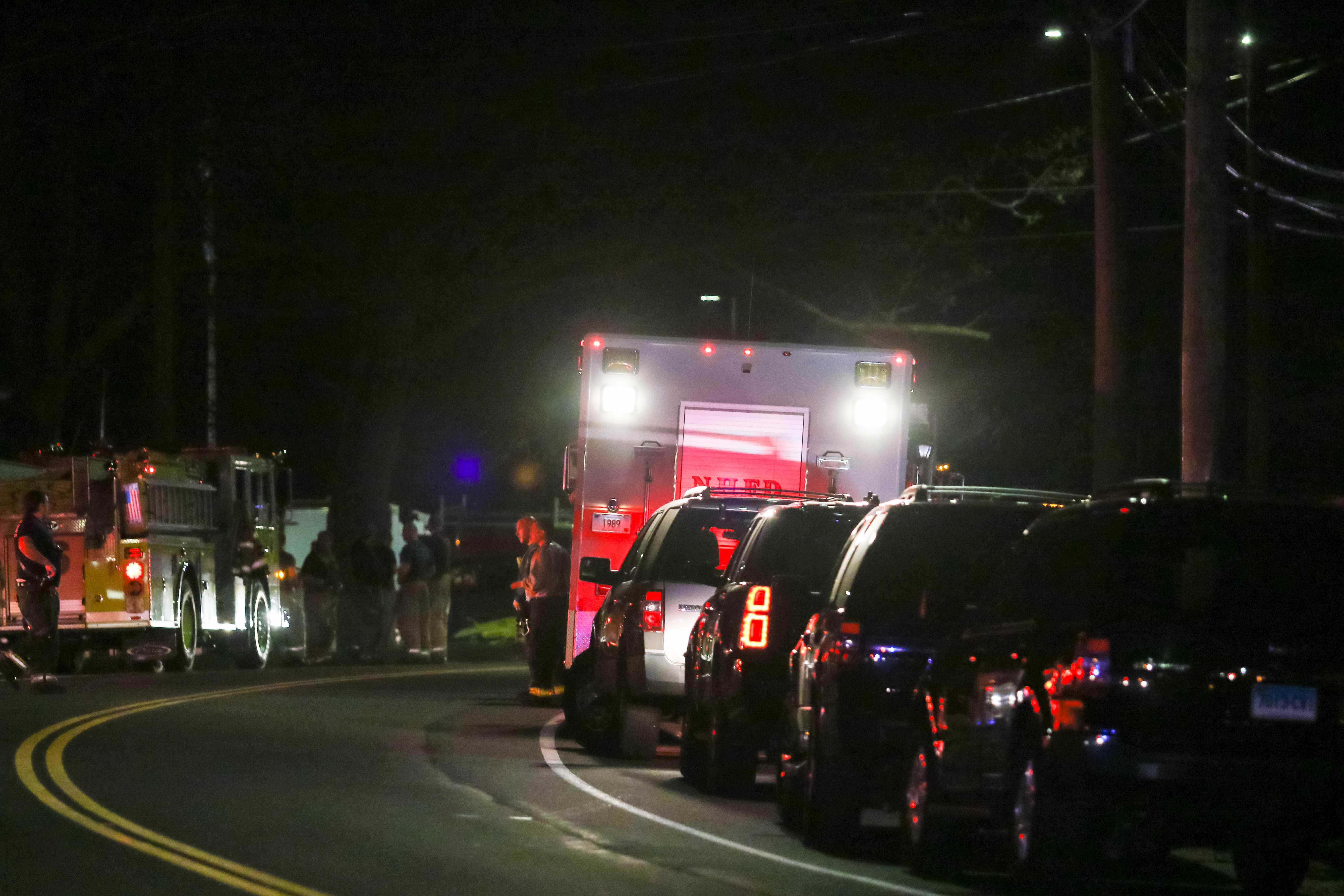Quinnipiac Avenue explosion
