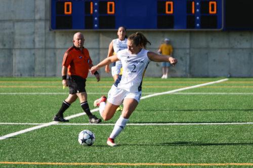 Quinnipiac+womens+soccer+falls+to+Seton+Hall+in+tight+game