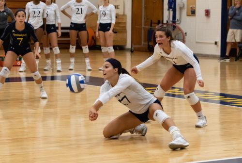 Quinnipiac volleyball falls to Iona, 3-1, in MAAC contest
