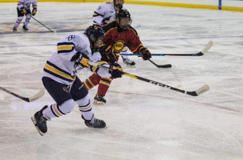 Quinnipiac women's ice hockey rolls past Guelph in exhibition game