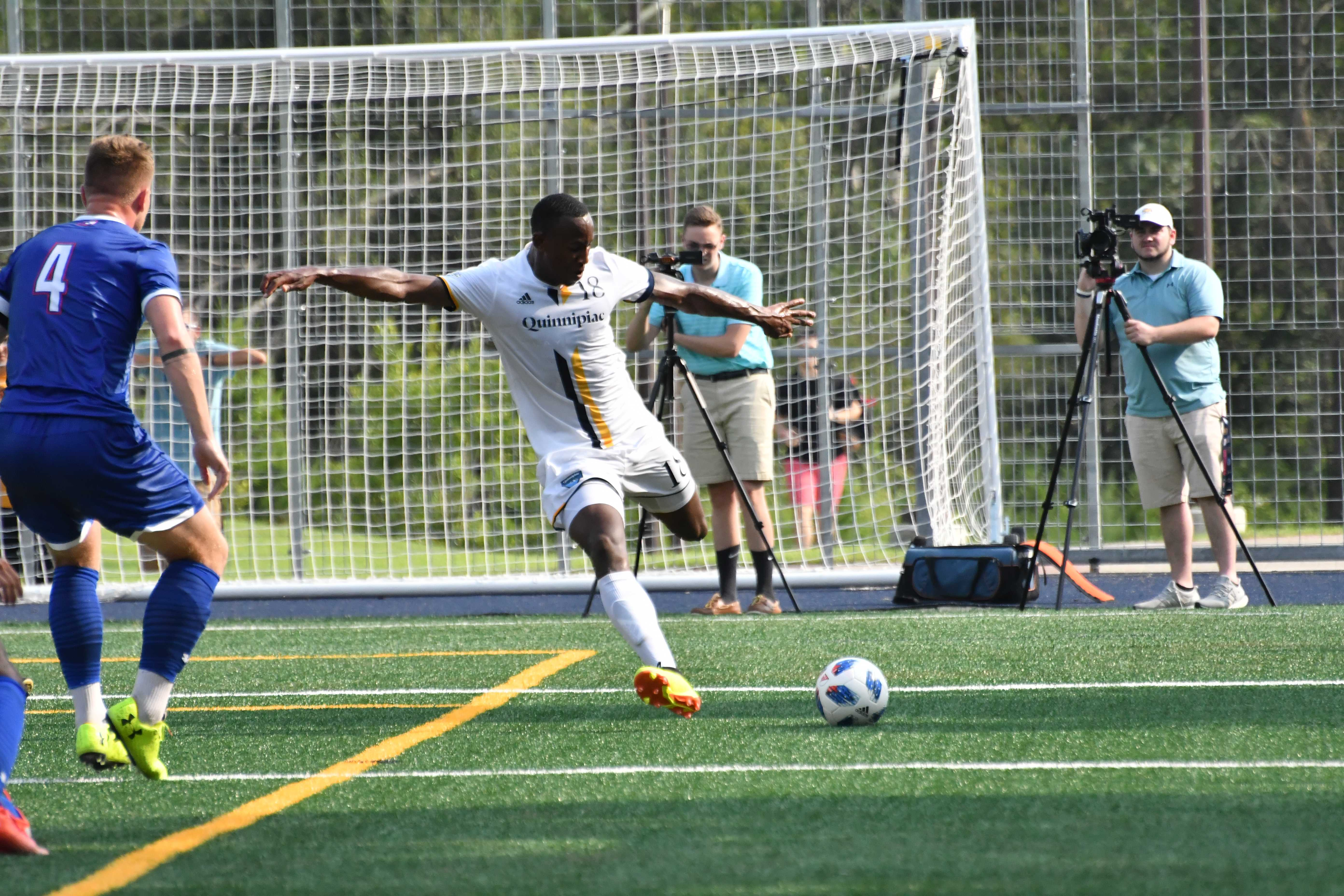 Quinnipiac men's soccer tops Central Connecticut State for second straight win