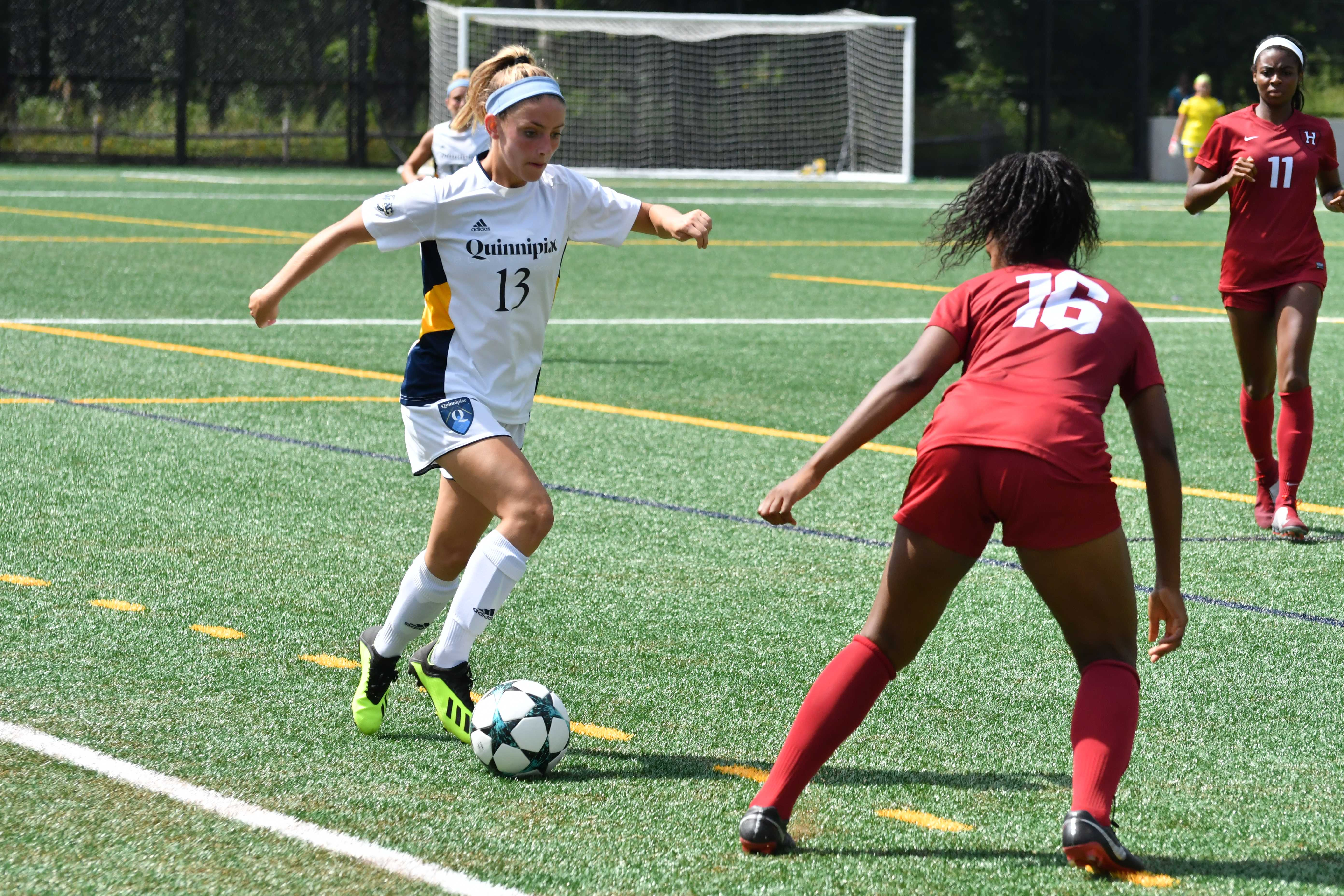 Quinnipiac women's soccer blanked by Harvard