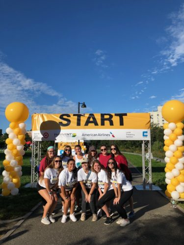 Quinnipiac makes strides for Pediatric Cancer Awareness Month