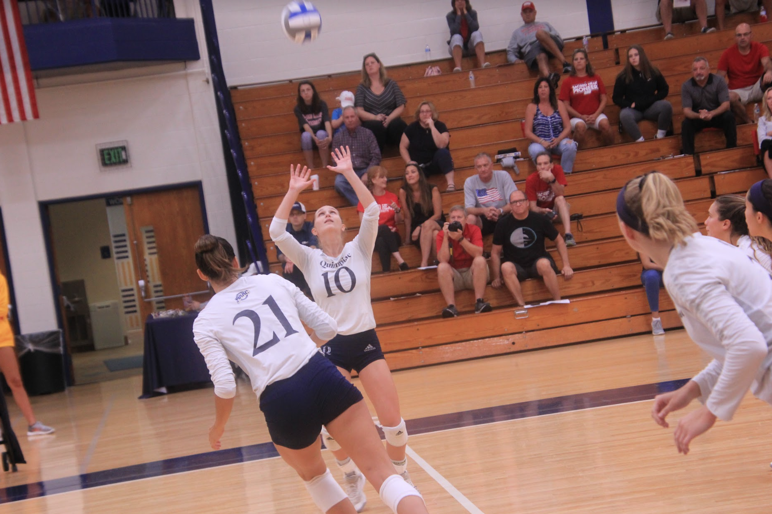 Quinnipiac volleyball remains winless after loss to Sacred Heart