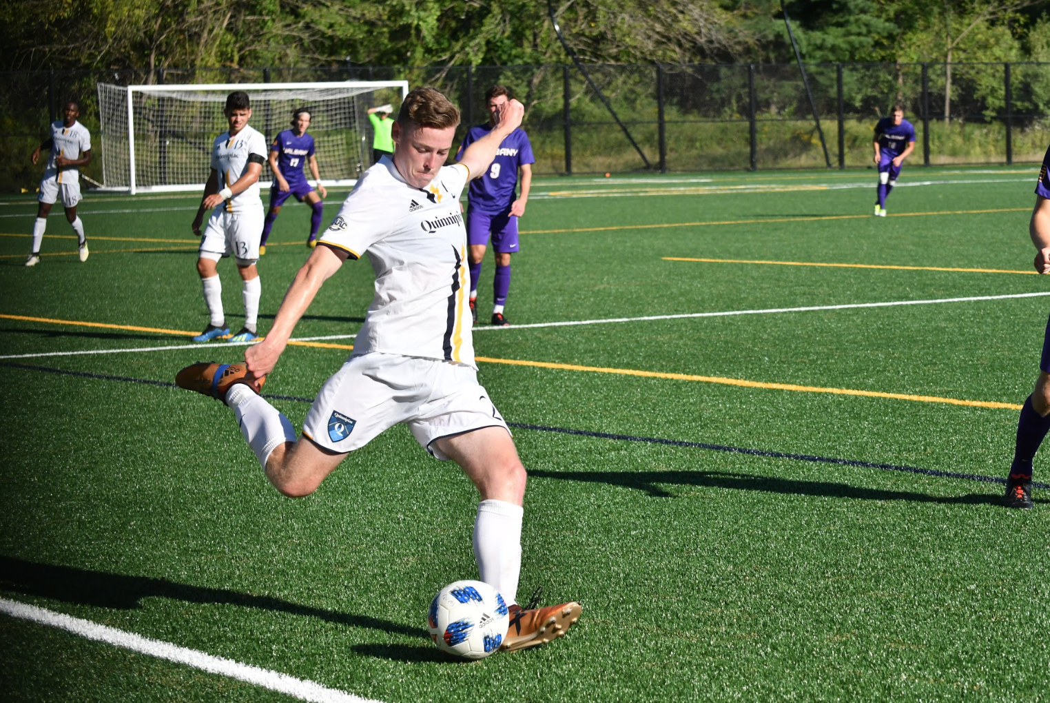 Quinnipiac men's soccer outlasts Albany, 2-1, in overtime