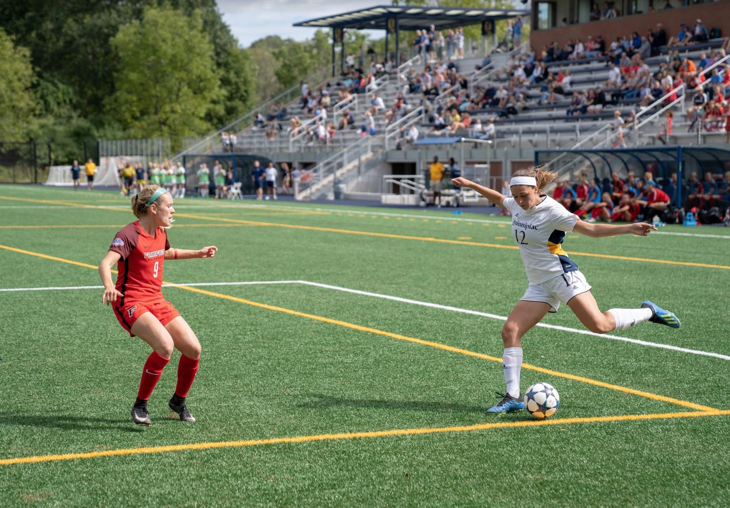 Quinnipiac women's soccer dominant in win over Fairfield