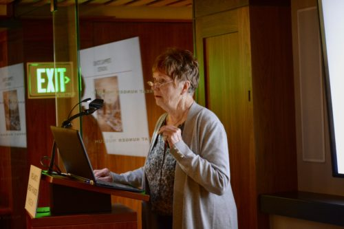 Grandniece of Irish artist John Mulvany speaks at Great Hunger Museum