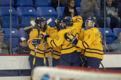 No. 5 Quinnipiac men's hockey takes down Yale, earn No. 1 seed in ECAC Hockey playoffs