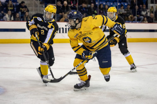 Quinnipiac+men%27s+ice+hockey+rolls+past+AIC+to+remain+undefeated