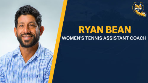 Ryan Bean takes over as women's tennis assistant coach