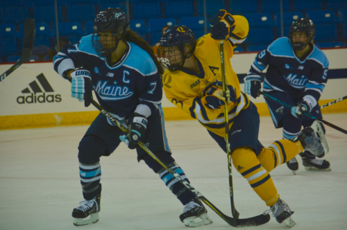 Quinnipiac women's ice hockey falls to Maine in overtime