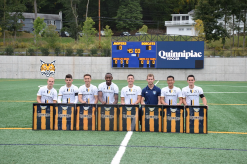 Quinnipiac men's soccer tops Manhattan in overtime on Senior Day