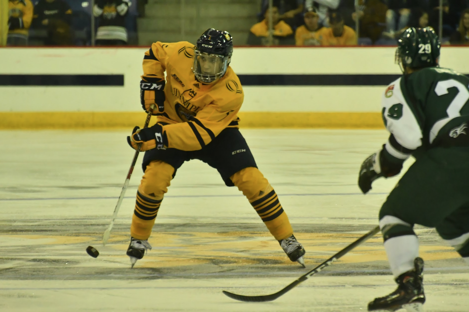 Quinnipiac men's ice hockey beats UPEI in exhibition game, 5-2