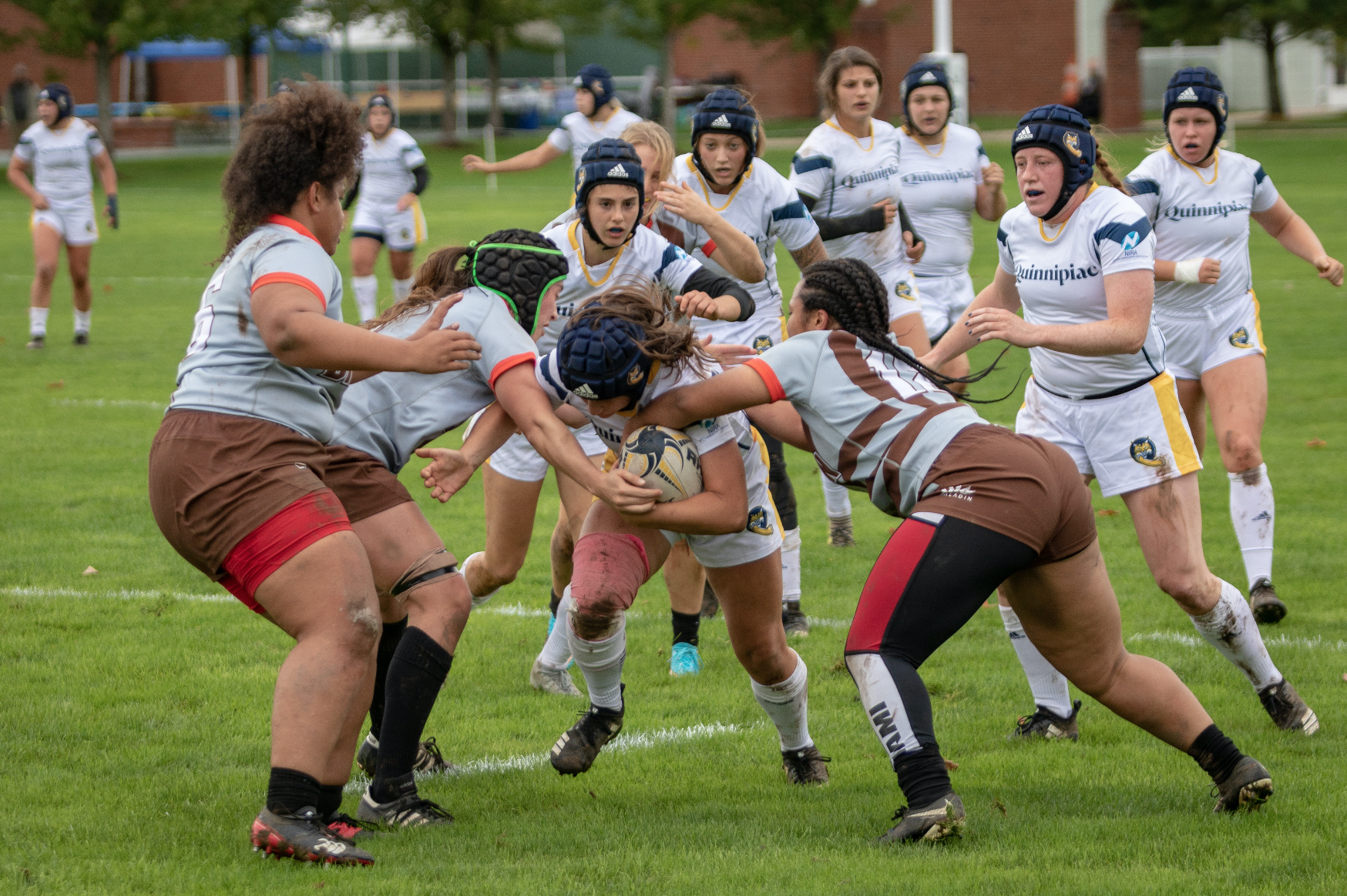 Quinnipiac rugby overpowers Brown in 85-3 victory
