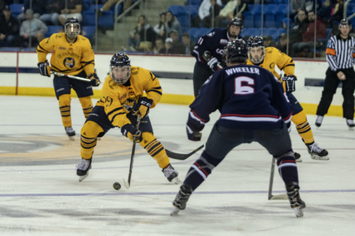 Quinnipiac men's ice hockey wins home opener against UConn