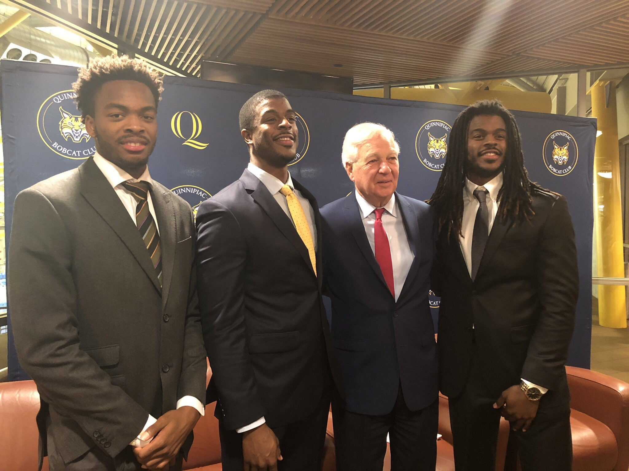 Bobcat Club hosts inaugural Quinnipiac Basketball Tip Off Reception