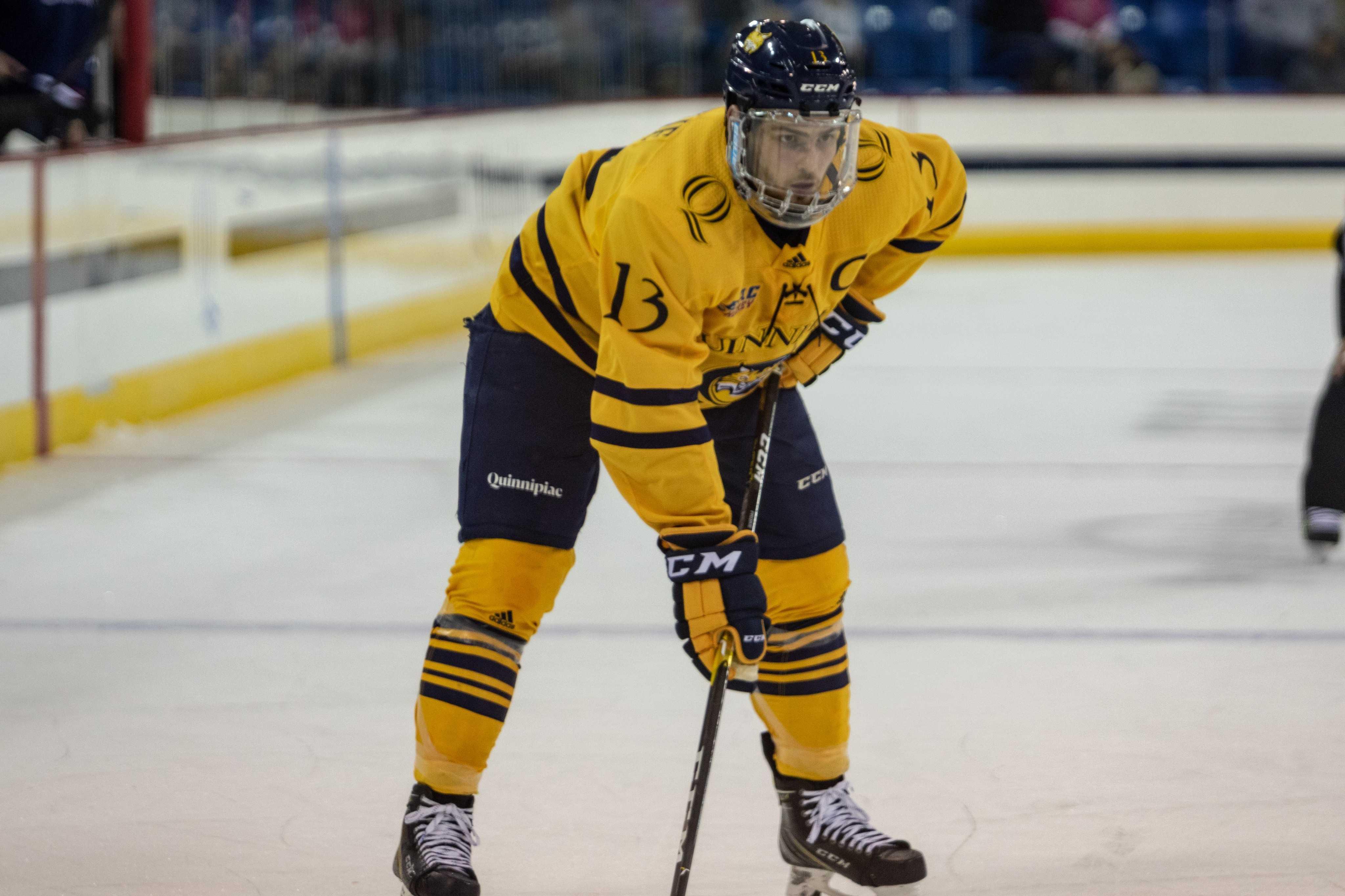 Quinnipiac men's ice hockey takes down Harvard in ECAC Hockey opener