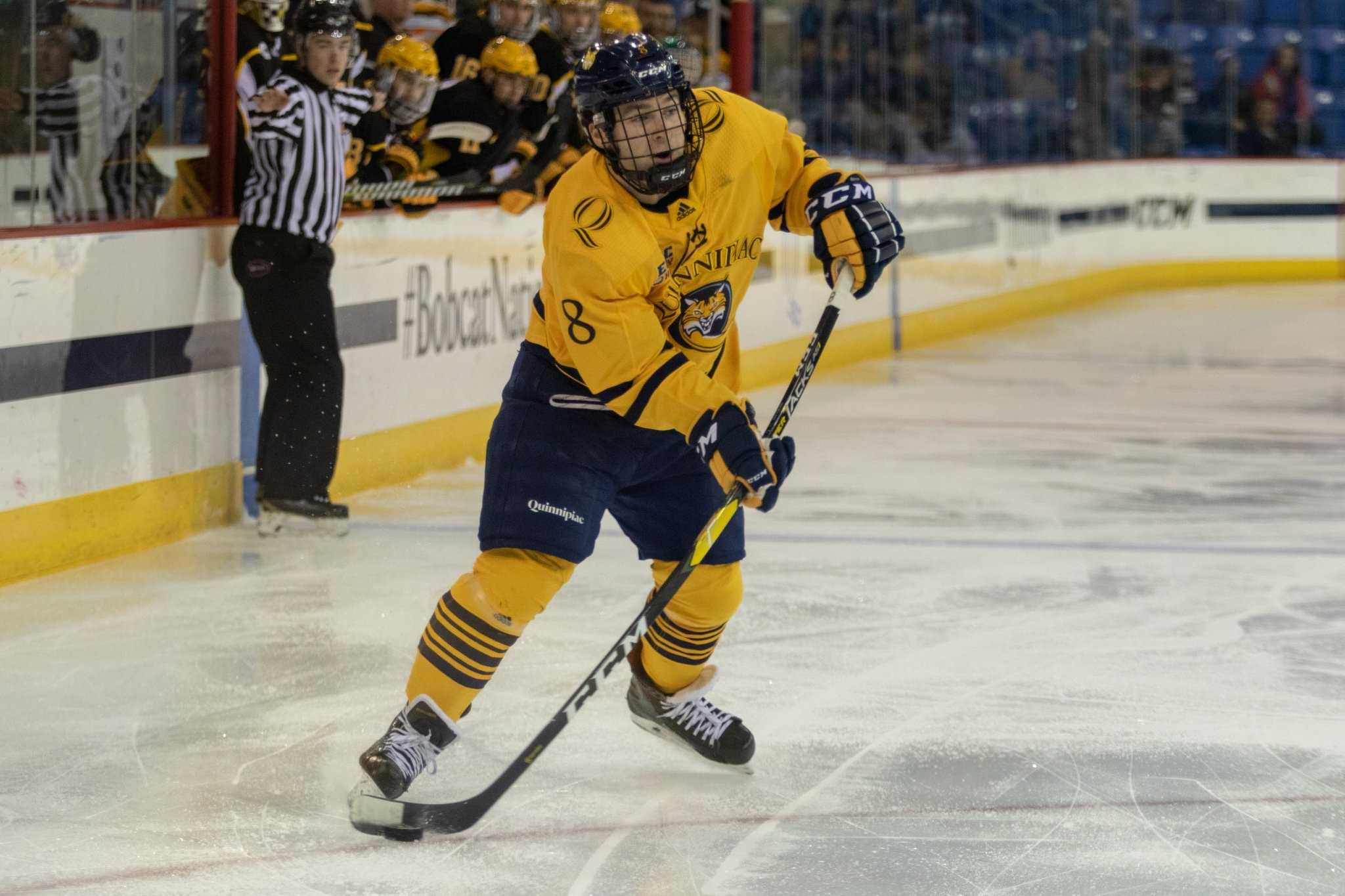 Quinnipiac men's ice hockey loses its first game of the year, 5-1 to Dartmouth