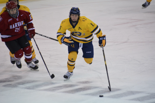 Quinnipiac women's ice hockey edges Harvard, 1-0